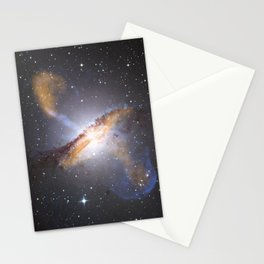 Nebula and Stars in Space Stationery Cards