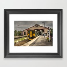 Frome Station Framed Art Print