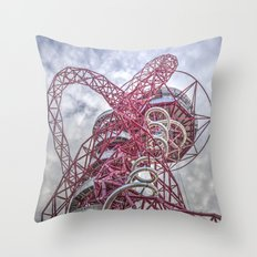 The Arcelormittal Orbit  Throw Pillow