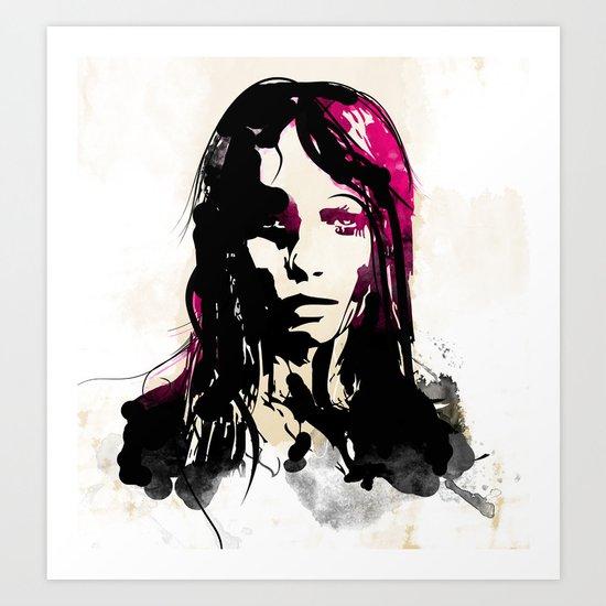 Drained Art Print