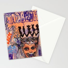 Lady Macbeth Stationery Cards
