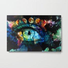 Moon Eye Metal Print