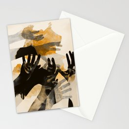 Tidal waves Stationery Cards