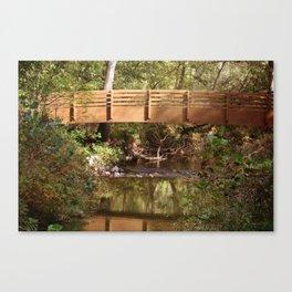 Bridge Over Brook Canvas Print