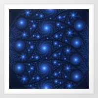 starry night Art Prints featuring Starry Starry Night by Lyle Hatch