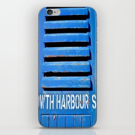 Howth Harbour Shutter iPhone Skin