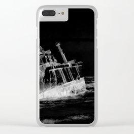 shipwreck aqrebwi Clear iPhone Case