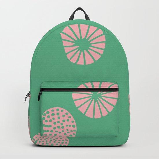 Dandelion flying aquac Backpack