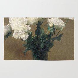 Henri Fantin Latour - Poppies Rug