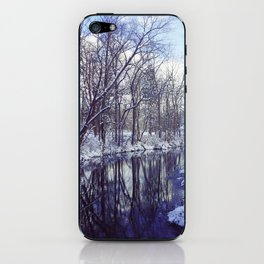 Blue Ice II iPhone Skin