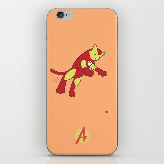The Invincible IronCat iPhone & iPod Skin