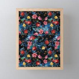 NIGHT FOREST XVI Framed Mini Art Print