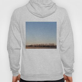 Scrubby Trees on Nebraska Plains Hoody