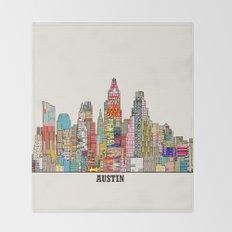 Austin texas Throw Blanket