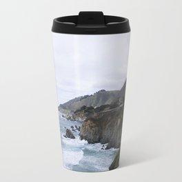 Ocean Cliffs of Big Sur Travel Mug