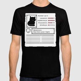 RPG Video Game Cat T-shirt