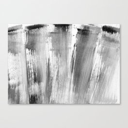 I feel grey today (happy) Canvas Print