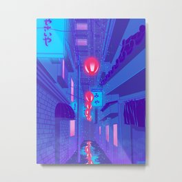 Shibuya Nights Metal Print