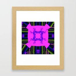 Internal Kaleidoscopic Daze-14 Framed Art Print