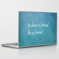friendship Laptop & iPad Skins featuring Friendship by Lyle Hatch