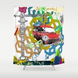 Of The Enemy Shower Curtain