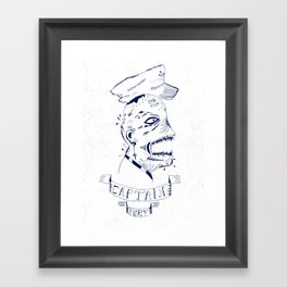 Captain Fury Framed Art Print