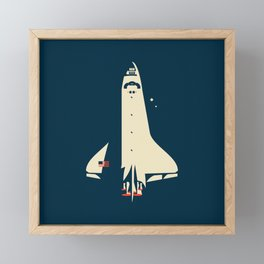 The Shuttle Framed Mini Art Print