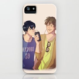 Mako and Haru iPhone Case