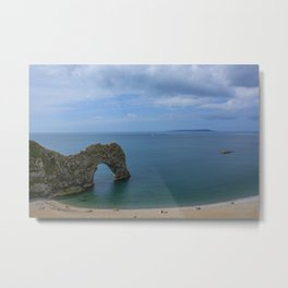 Durdle Door Doset Metal Print