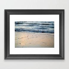 Shore Line Framed Art Print