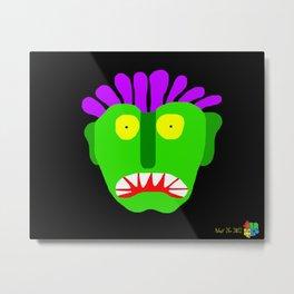 Green Man I Metal Print