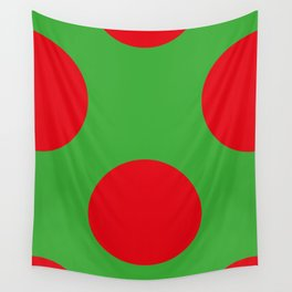 This is the back of a Ladybird. In different colors by the way. Wall Tapestry
