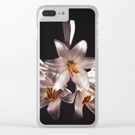 lilies Clear iPhone Case