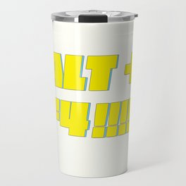 Alt + F4 Travel Mug
