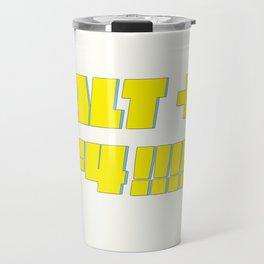 Alt + F4 Travel Mug