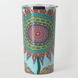 Fabby Flower-Eden colors Travel Mug