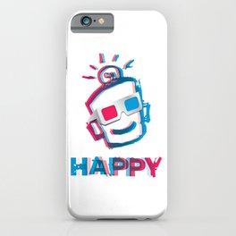 3D HAPPY iPhone Case