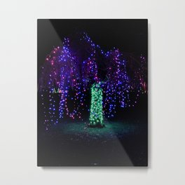 Festive Weeping Willow Metal Print