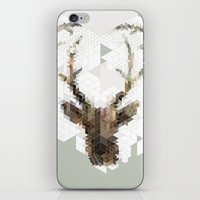 architect iPhone & iPod Skins featuring Deer Architect by Angelo Cerantola