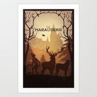 The Marauders Art Print