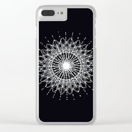 Razzle Dazzle Sun Clear iPhone Case