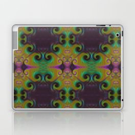 Spirals Royal Laptop & iPad Skin