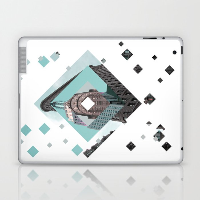New York City Diamonds Laptop & iPad Skin