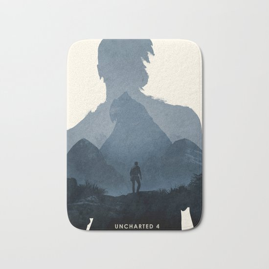 Uncharted 4 Bath Mat