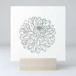 Dahlia Mini Art Print
