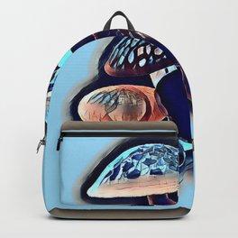 Uproar Blue Shrooms Backpack