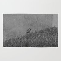 alone Area & Throw Rugs featuring Alone by Iveta S.