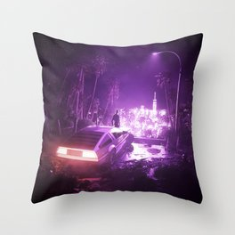 TIMEOUT | by RETRIC DREAMS Throw Pillow