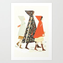 Winter Walk Art Print