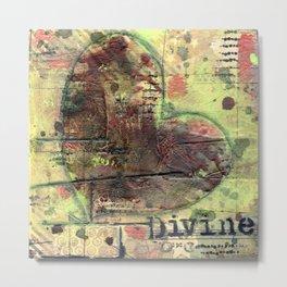 Permission Series: Divine Metal Print